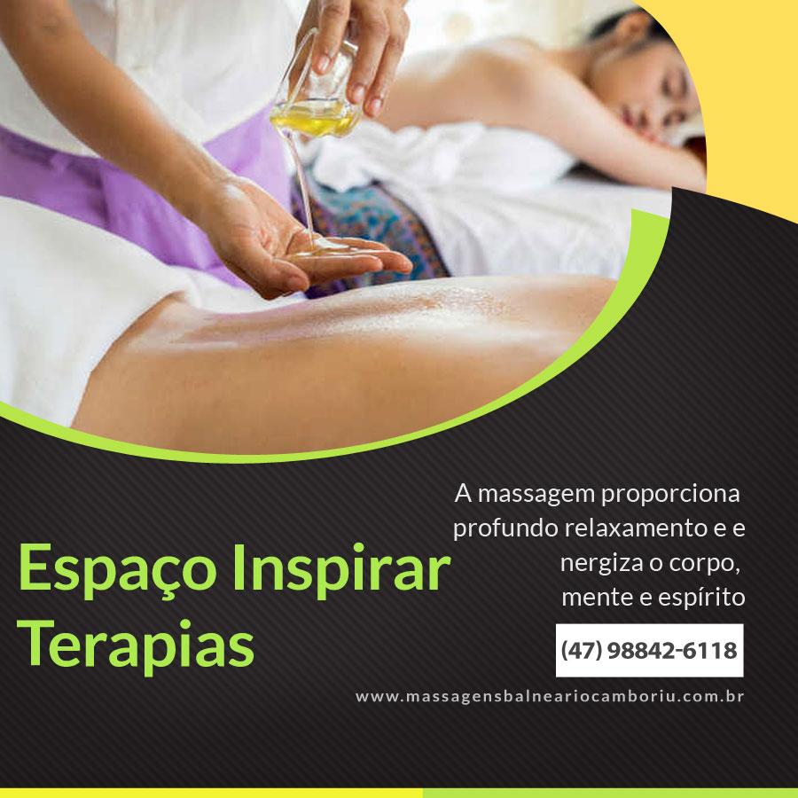 Massagem Relaxante em Balneário Camboriú